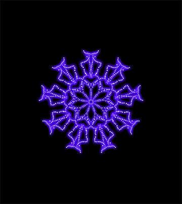 Snowflake №40104
