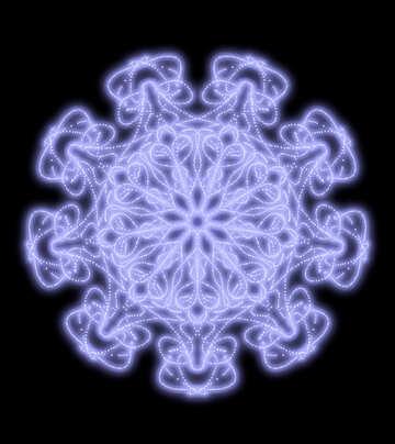Снежинка №40552