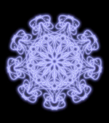 Snowflake №40552