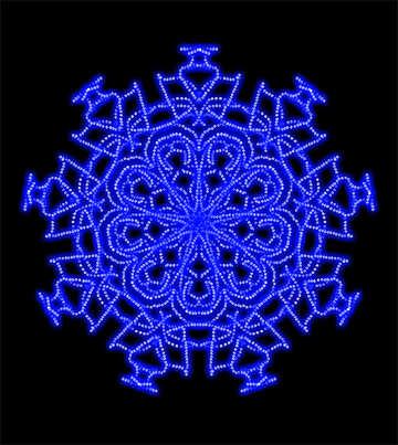 Snowflake pattern №40189