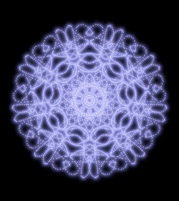 Clipart winter pattern №40513