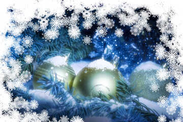 Christmas background for congratulations №40725