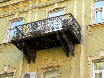 Balcony with air conditioning №41000