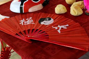 Chinese fan №40958
