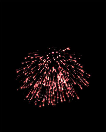 Fireworks drawn №40023