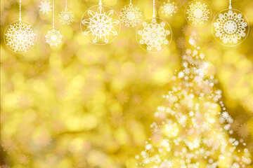 Fondo de año nuevo dorado №40684