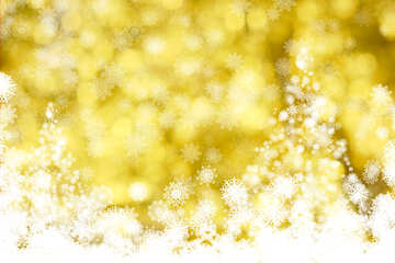 Gold Christmas tree beautiful clipart for background №40676