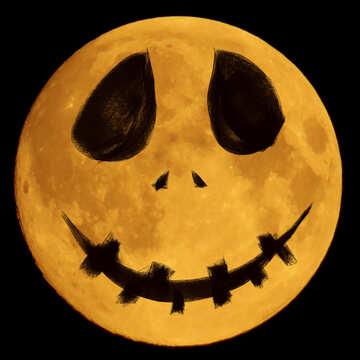 Moon Halloween №40476