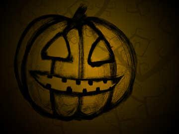 Halloween Pumpkin №40588
