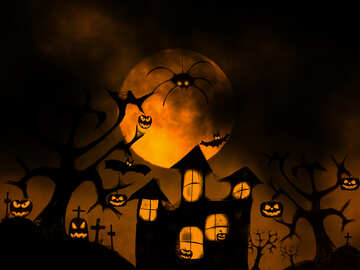 Halloween wallpaper for desktop №40470