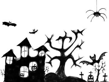 Clipart of Halloween №40498