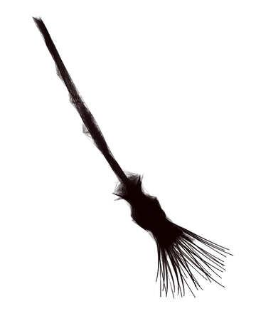 Clipart for Halloween broom №40487