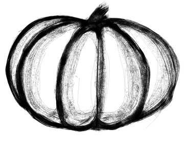 Clipart pumpkin №40581