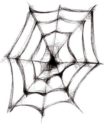 Clipart for Halloween Spider Web
