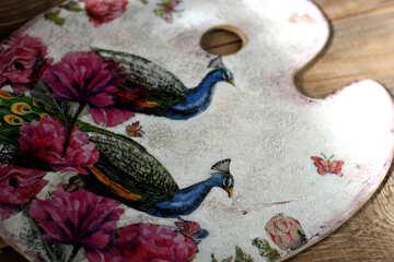 Handmade decorative element №40854