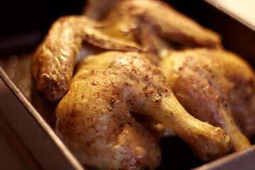 Baked chicken №40897