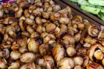 Mushrooms grilled №40928