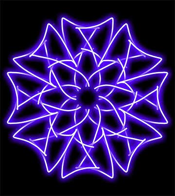 Neon pattern №40068