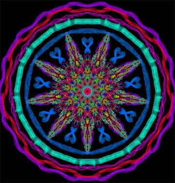 Mandala №40346
