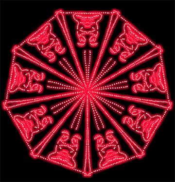 Pattern Red №40354