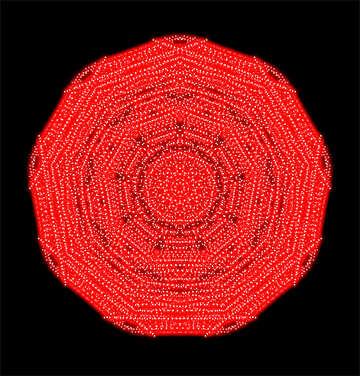 Red pattern №40356