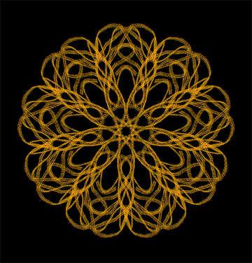 Ornament pattern element fire №40271