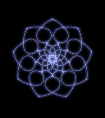 Beautiful symmetric pattern №40549