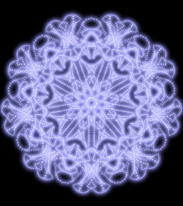 Ornament pattern space №40576