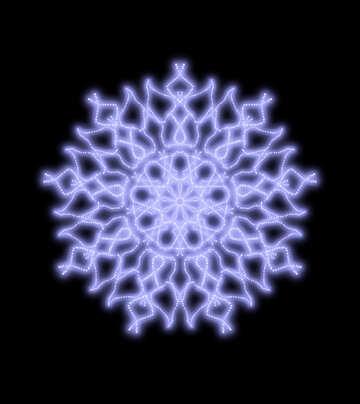 Angel ornament pattern №40574
