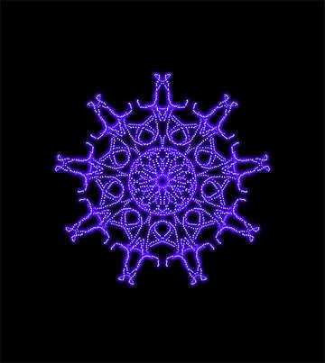 Star ornament №40119