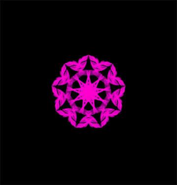 Star motif №40389