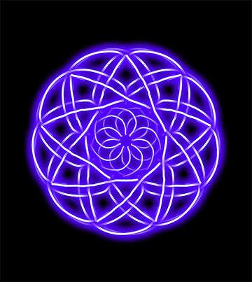 Pattern in circle №40072