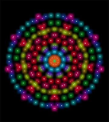 Circle of beads №40270
