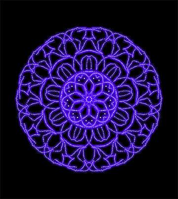 Circular pattern №40085