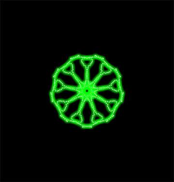 Wheel motif №40382