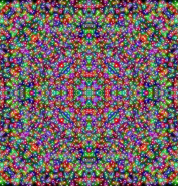 Abstract symmetric texture №40446