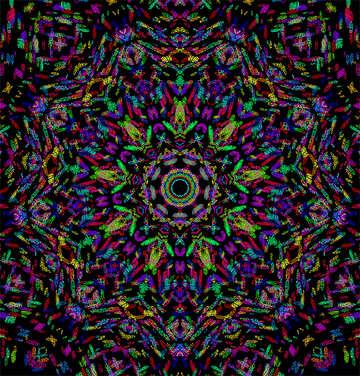 La trama del bello reticolo colorato №40442