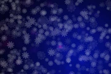 Background snowflakes №40699
