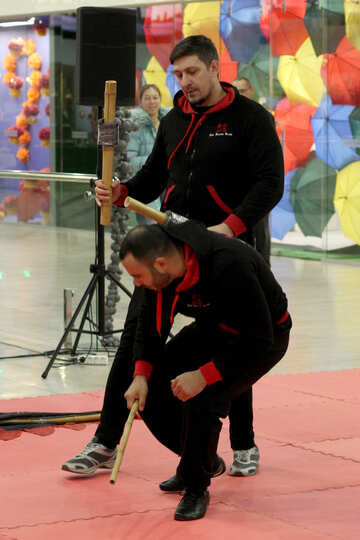 Presentation of martial arts №40990