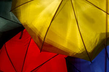 Colored umbrellas №40974