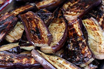 Eggplants grilled №40932