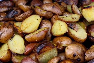 Potatoes are selyanski №40936