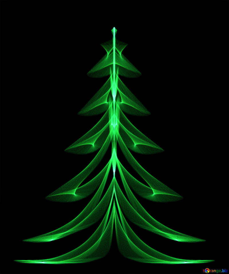 Christmas tree №40653