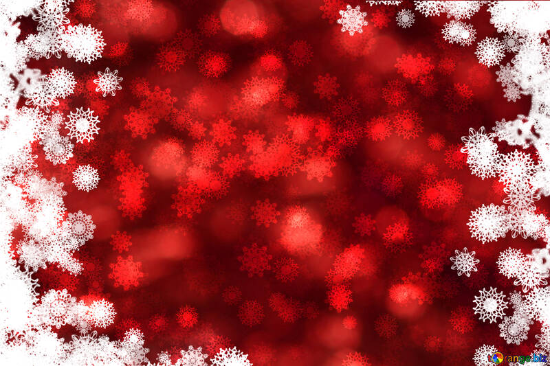 Red Christmas background №40707