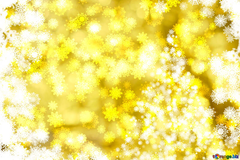 Tree yellow background Christmas and new year №40703