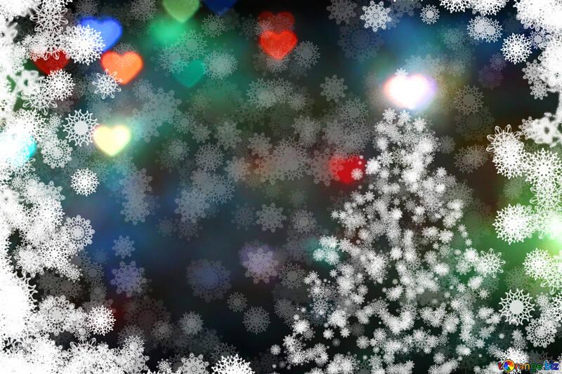 Weihnachts-Postkarte №40691