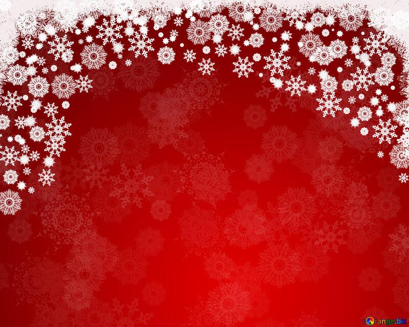 Sfondo rosso per le carte di Natale e Capodanno №40655