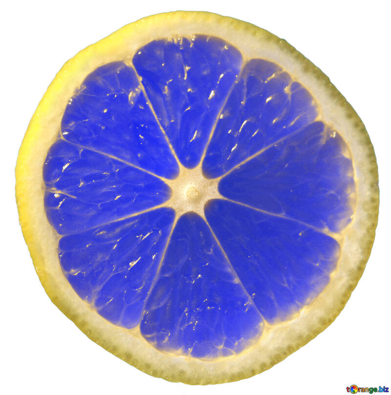 Blue lemon №40832