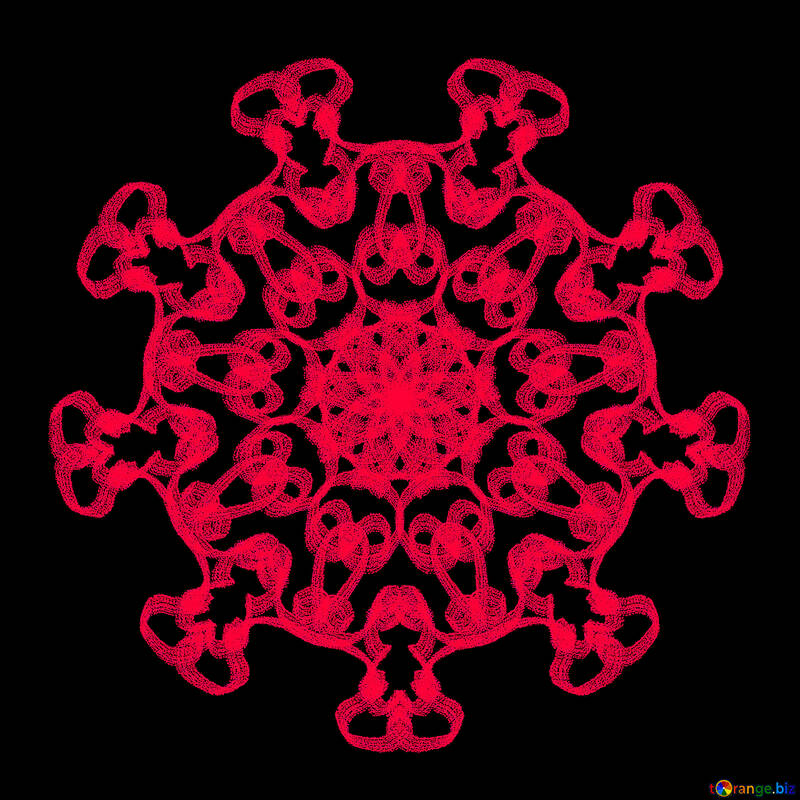 Snowflake clipart №40247