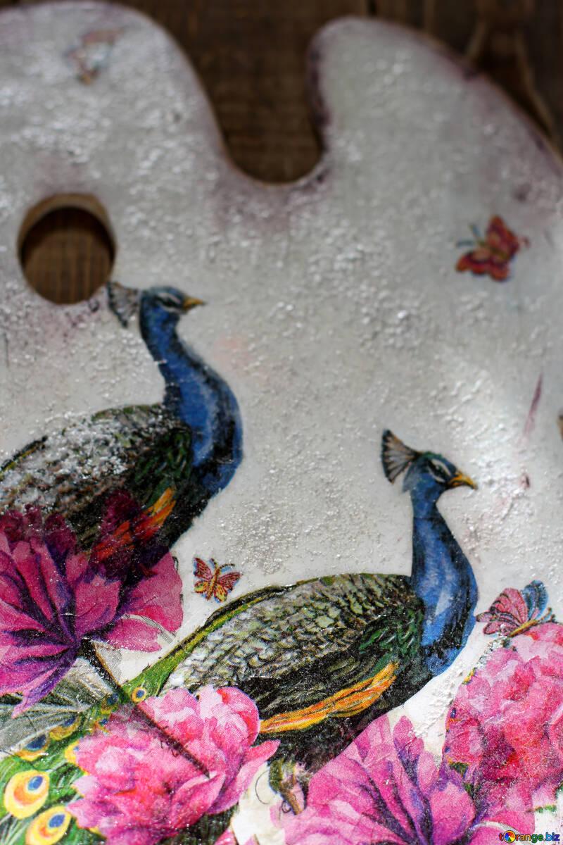 Peacocks in design №40858